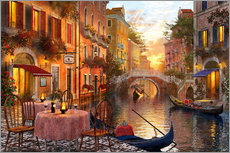 Wall Sticker  Venetian sunset - Dominic Davison