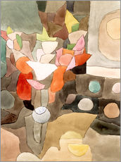Wall sticker  Gladiolus still life - Paul Klee