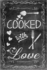 Gallery print  Cooked with Love - Andrea Haase