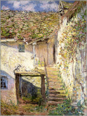 Wall sticker  The staircase - Claude Monet