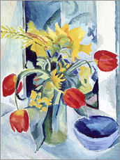 Gallery print  Still life with tulips - August Macke