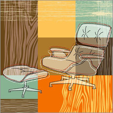 Gallery print  lounge chair - Thomas Marutschke