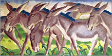 Wall sticker  Donkey Fries - Franz Marc