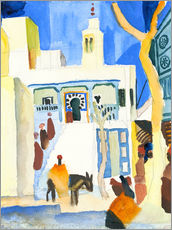 Gallery print  A Mosque - August Macke
