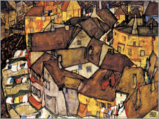 Wall sticker  Houses in Krumau - Egon Schiele