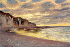 Gallery print  Low tide at Pointe de L'Ailly - Claude Monet
