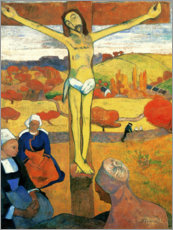 Premium poster  The Yellow Christ - Paul Gauguin