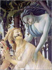 Gallery print  Spring, Cephir and the nymph Chloris - Sandro Botticelli