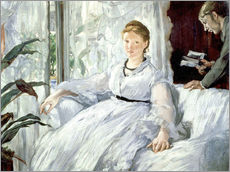 Wall sticker  Madame Manet and her son Léon - Edouard Manet