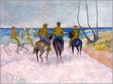 Gallery print  Riders on the beach (I) - Paul Gauguin