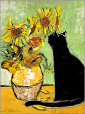 Gallery print  The cat of Van Gogh - JIEL
