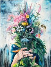 Wall sticker  The Last Flowers - Tanya Shatseva