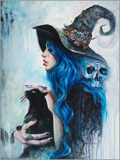 Gallery Print  Blue Witch - Tanya Shatseva