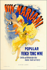 Premium poster Marian wine (French)
