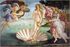 Foam board print  The Birth of Venus - Sandro Botticelli