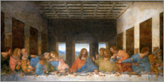Wall sticker  The last supper - Leonardo da Vinci