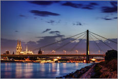 Wall sticker  Daybreak in Cologne - Tanja Arnold Photography