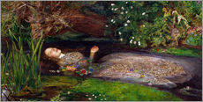 Wall sticker  Ophelia - Sir John Everett Millais