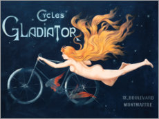 Wall sticker  Cycles Gladiator - Georges Massias