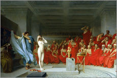 Gallery print  Phryne before the Areopagus - Jean Leon Gerome