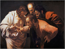 Wall sticker  The Doubting Thomas - Michelangelo Merisi (Caravaggio)