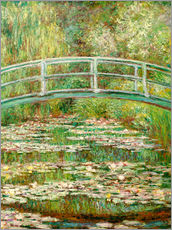 Gallery print  The Japanese bridge - Claude Monet