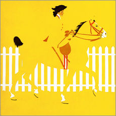 Gallery Print  Thoroughbreds - Clarence Coles Phillips