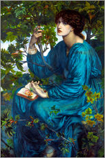 Wall sticker  Daydreams - Dante Charles Gabriel Rossetti