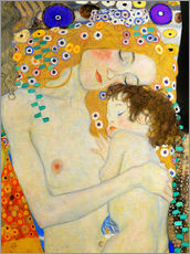 Wall sticker  Mother and Child (detail) - Gustav Klimt
