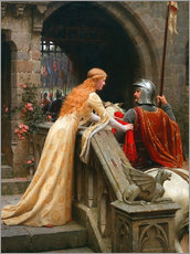 Wall sticker  God Speed - Edmund Blair Leighton
