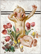 Canvas print  Spring has sprung - Joseph Christian Leyendecker