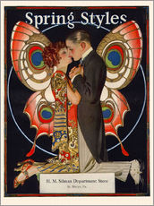 Gallery print  Spring fashion 1924 - Joseph Christian Leyendecker