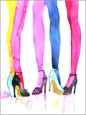 Gallery print  Legs and heels - Rongrong DeVoe