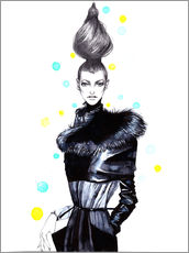 Gallery print  High fashion - Rongrong DeVoe
