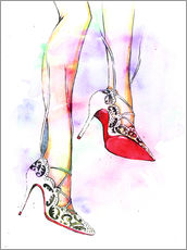 Gallery print  Hot high heels - Rongrong DeVoe