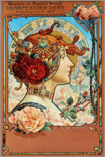 Canvas print  Charpentier Deny - Louis Theophile Hingre
