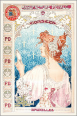 Premium poster Royal production of corsets (French)