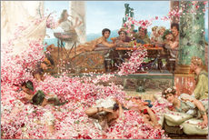 Gallery print  The Roses of Heliogabalus - Lawrence Alma-Tadema