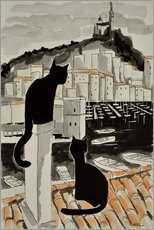 Gallery print  Cats and kittens - JIEL