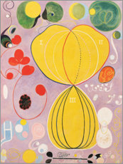 Wood print  The Ten Largest, No. 7, Adulthood - Hilma af Klint