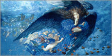 Gallery print  Night with her train of stars - Edward Robert Hughes