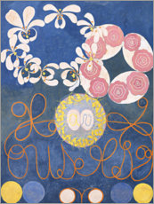Wood print  The Ten Largest, No. 1, Childhood - Hilma af Klint