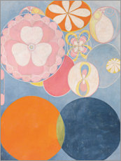 Aluminium print  The Ten Largest, No. 2, Childhood - Hilma af Klint