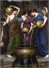 Wall sticker  Danaïdes - John William Waterhouse