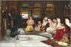 Wall sticker  Consulting The Oracle - John William Waterhouse