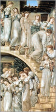 Wall sticker  The Golden Stairs - Edward Burne-Jones