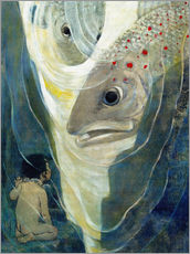 Gallery print  Water Babies - Jessie Willcox Smith