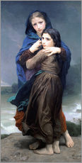 Wall sticker  The Storm - William Adolphe Bouguereau