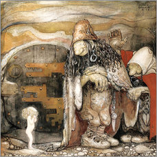 Wall sticker  The changeling - John Bauer