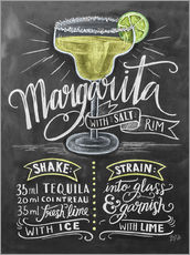 Wall sticker  Margarita recipe - Lily & Val